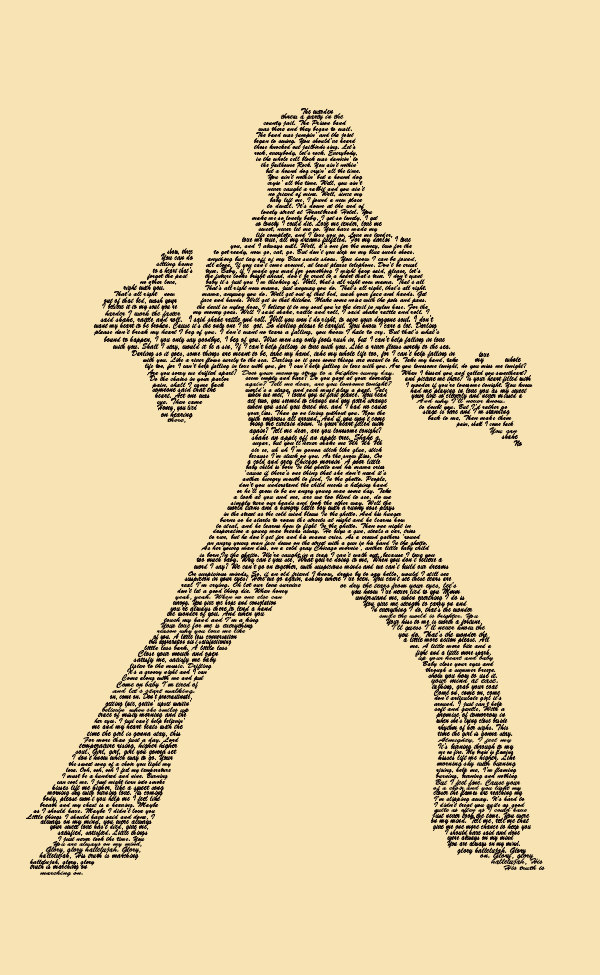 Elvis Presley Typography Poster Elvis print Wall Decor Wall Art ...
